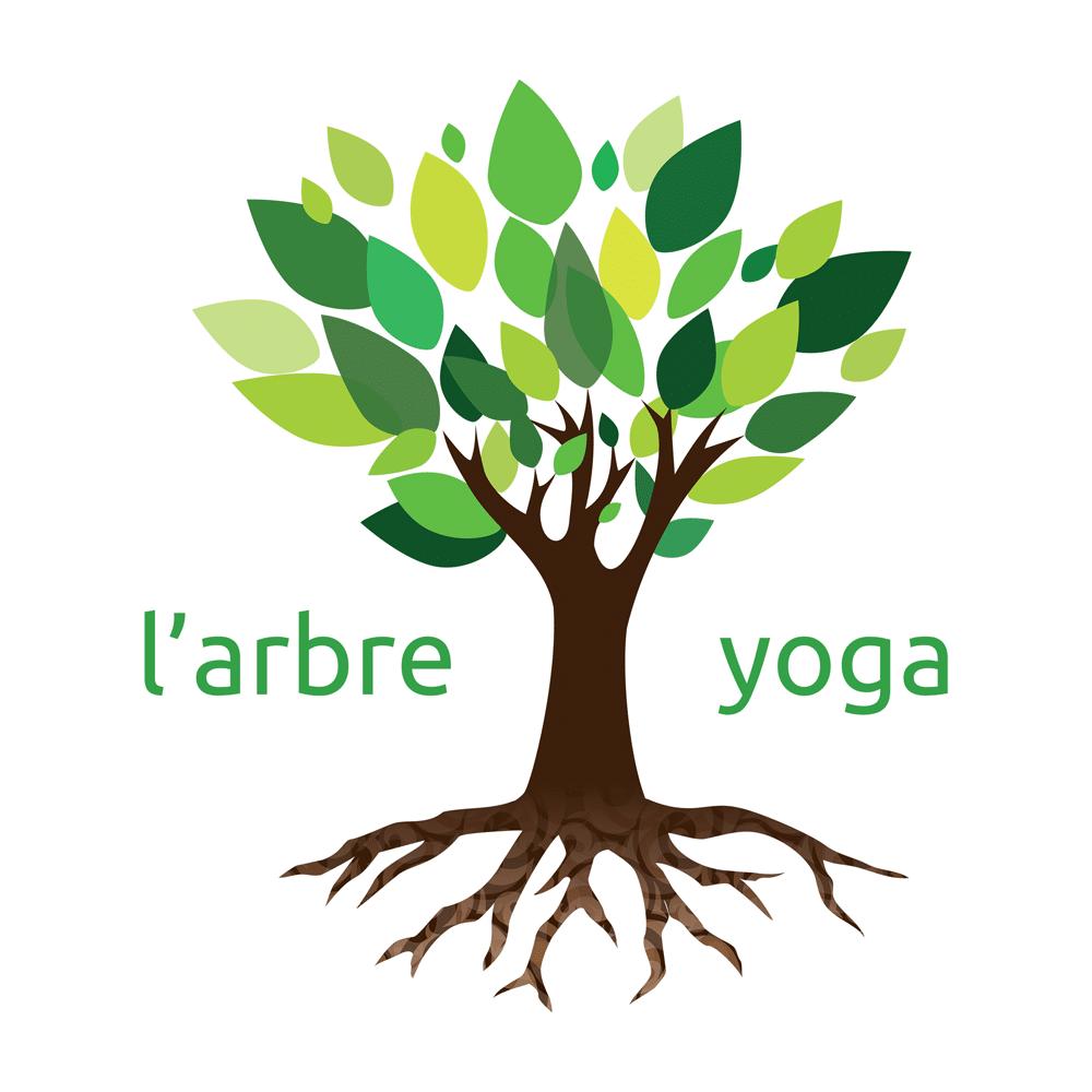 Logo l'Arbre Yoga La Rochelle